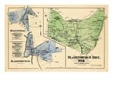 1878, Prince George County - District 2 - Bladensburg, Hyattsville, Bladensburgh, DC, USA Giclee Print