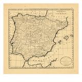 1796, Portugal, Spain Giclee Print