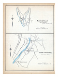 1893, Waterville, South of Waterbury, Connecticut, United States Giclee Print
