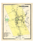 1868, Colchester, Connecticut, United States Giclee Print
