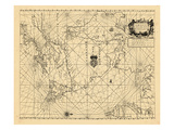 1689, A Chart of ye North part of/AMERICA./For Hudsons Bay Comonly called ye/NORTH WEST PASSAGE Giclee Print