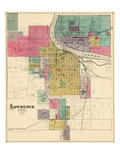 1887, Lawrence, Kansas, United States Giclee Print