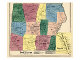 1869, Tollad Town, Tolland, Connecticut, United States Giclee Print