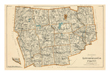 1893, Litchfield County - South Part, Connecticut, United States Giclee Print