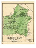 1878, Prince George County - District 6 - Spaldings, Silver, Forestville, Oakland, Suitland, Allent Giclee Print