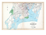 1893, Bridgeport - South Part, Connecticut, United States Giclee Print
