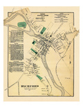1871, Richford Town, Vermont, United States Giclee Print