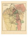 1871, Lowell City, Massachusetts, United States Giclee Print