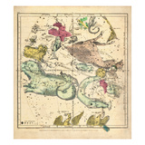 1835, Constellations October - December Giclee Print
