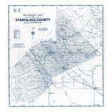 1950, Stanislaus County 1950c, California, United States Giclee Print