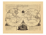 1708, World Giclee Print