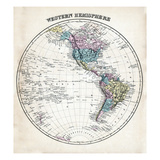 1877, Western Hemisphere, Maryland, United States Reproduction procédé giclée