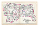 1893, Hartford County - South Part, Connecticut, United States Giclee Print