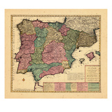 1700, Portugal, Spain Giclee Print