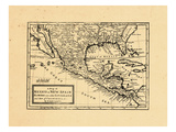 1745, Mexico, United States Giclee Print