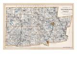 1893, Litchfield County - North Part, Connecticut, United States Giclee Print