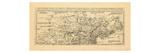 1764, Connecticut, Maine, Massachusetts, New Hampshire, New York, Newfoundland and Labrador Giclee Print