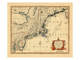 1752, Connecticut, Maine, Maryland, Massachusetts, New Hampshire, New Jersey, New York Giclee Print