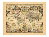 1651, World Giclee Print