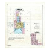 1870, Altona, Gilson, Illinois, United States Giclee Print