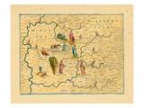 1612, Middlesex Hartfordshyre, United Kingdom Giclee Print