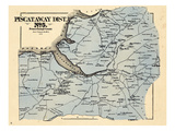 1878, Prince George County - District 5 - Piscataway, Accokeek, Farmington, Spring Grove Giclee Print