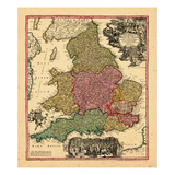 1715, United Kingdom Giclee Print
