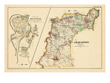 1887, Pequannock Township, Butler Plan, New Jersey, United States Giclee Print