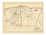 1893, Meriden City - South Part, Connecticut, United States Giclee Print