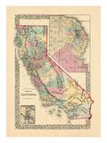 1870, California Giclee Print