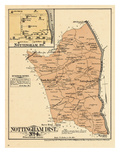 1878, Prince George County - District 4 - Nottingham, North Keys, Croome, District of Columbia Giclee Print