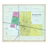 1892, Wanatah, Indiana, United States Giclee Print