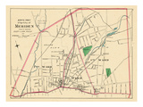 1893, Meriden City - North Part, Connecticut, United States Giclee Print