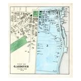 1879, Gardiner, Maine, United States Giclee Print