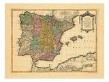 1770, Portugal, Spain Giclee Print