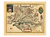 1633, Virginia Giclee Print
