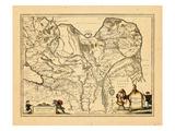 1658, Russia, Mongolia Giclee Print