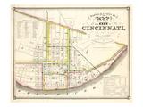 1841, Cincinnati 24x29, Ohio, United States Giclee Print