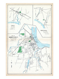 1893, Middleton City, Clinton, Middle Haddam, Connecticut, United States Giclee Print