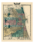 1876, Chicago, Illinois, United States Giclee Print
