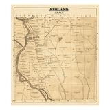 1877, Ashland, Maine, United States Giclee Print