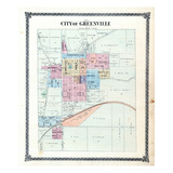 1875, Greenville, Illinois, United States Giclee Print