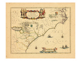 1655, Florida, Virginia Giclee Print