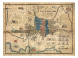 1836, Portland, Maine Giclee Print