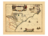 1658, Florida, Virginia Giclee Print