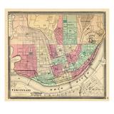 1868, Cincinnati, Ohio, United States Giclee Print