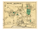 1876, West Medway, West Medway, Massachusetts, United States Giclee Print