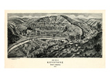 1911, Keystone Aero View 17x29, West Virginia, United States Giclee Print