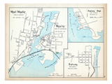 1893, Mystic, West Mystic, Eastern Point, Taftville, Connecticut, United States Giclee Print