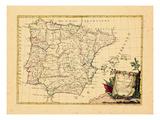 1775, Portugal, Spain Giclee Print